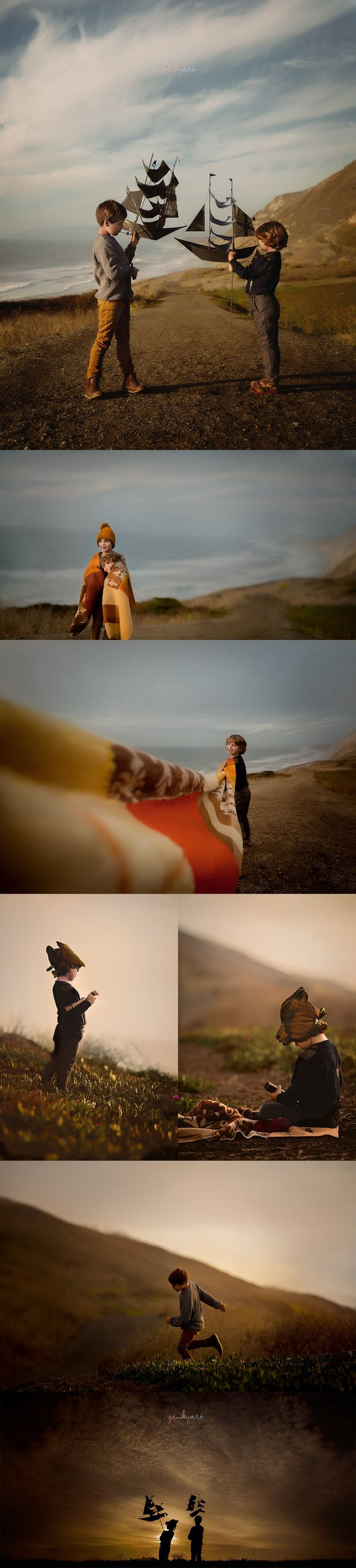 Adventurous boys photography by jinky art