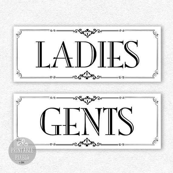 Bathroom Signs Pdf 14 best signs images on pinterest | restroom signs, bathroom signs