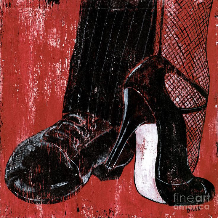 tango art prints | Tango Painting - Tango Fine Art Print