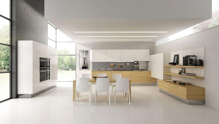Oltre 25 fantastiche idee su Cucine in legno chiaro su Pinterest  Armadi in ...