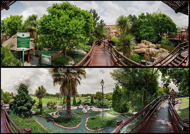 Outdoor activities at the Emerald Resort & Casino Entertainment Quart - Pad Pad, Rock Climbing etc. See it all at http://www.bizlistings.co.za