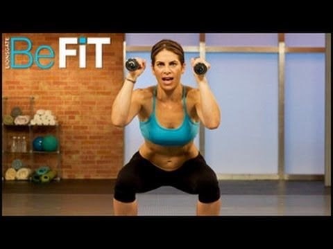 Jillian Michaels' workouts beat the shit out of me, but nonetheless, inspirational: - No More Trouble Zones- Complete Workout