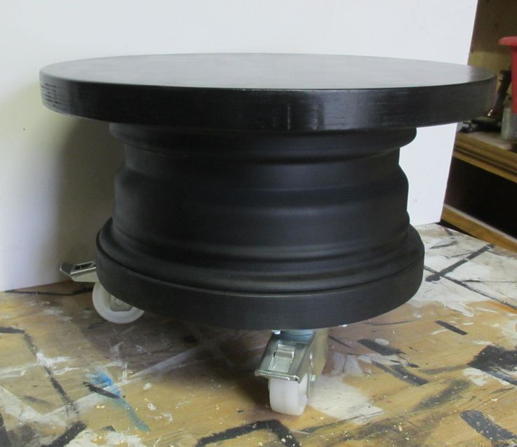 Wheel table of wiel tafel van volvo velg