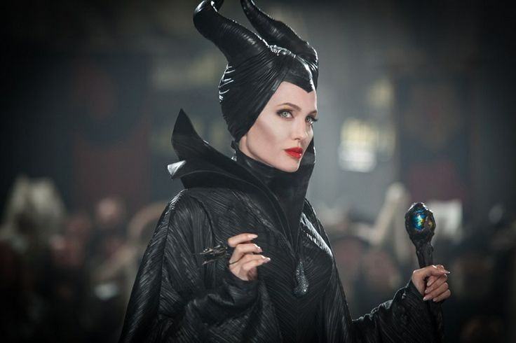 """Behind Maleficent's Horns...Rick Baker, the film's special-effects make-up artist, had told Allure magazine that Alexander McQueen's creative director made the headpiece that gave Angelina Jolie's character her menacing silhouette, but the brand has refuted that today.  """"It was a skullcap that she could slip on,"""" Baker told the American beauty title. """"The horns were wrapped in leather and were made by Sarah [Burton] at Alexander McQueen"""