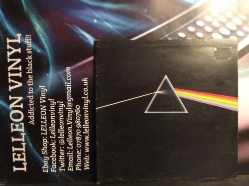 Pink Floyd Dark Side Of The Moon LP SHVL804 Harvest EMI A6 B3 1973 70's Music:Records:Albums/ LPs:Rock:Progressive