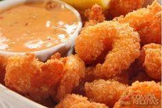 Receita de Camarão à milanesa em receitas de crustaceos, veja essa e outras receitas aqui!