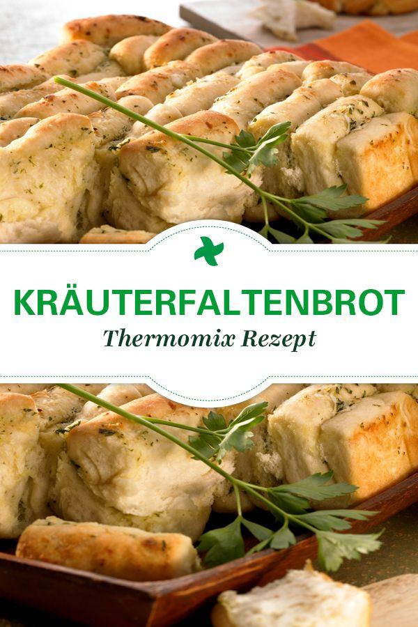 Das Kräuterfaltenbrot ist DER Thermomix Rezept-Klassiker, der auf keiner Party und keinem Grillfest fehlen darf. Sooooo lecker!