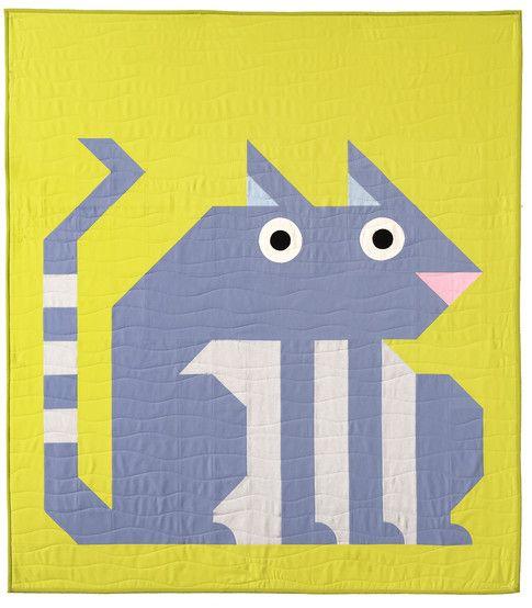Awkward Animals Designer Pattern: Robert Kaufman Fabric Company