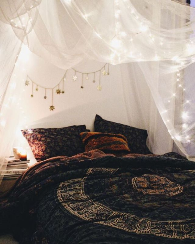 Elegant My Loft Room Obvi. Find Huge Canopy U0026u0026 Lights To String In It Part 20