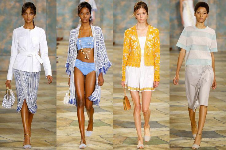 Minimalistická a inspirovaná sportovním stylem - jarní kolekce 2016 Tory Burch | Móda, styl a módní trendy. Dámské a pánské oblečení.