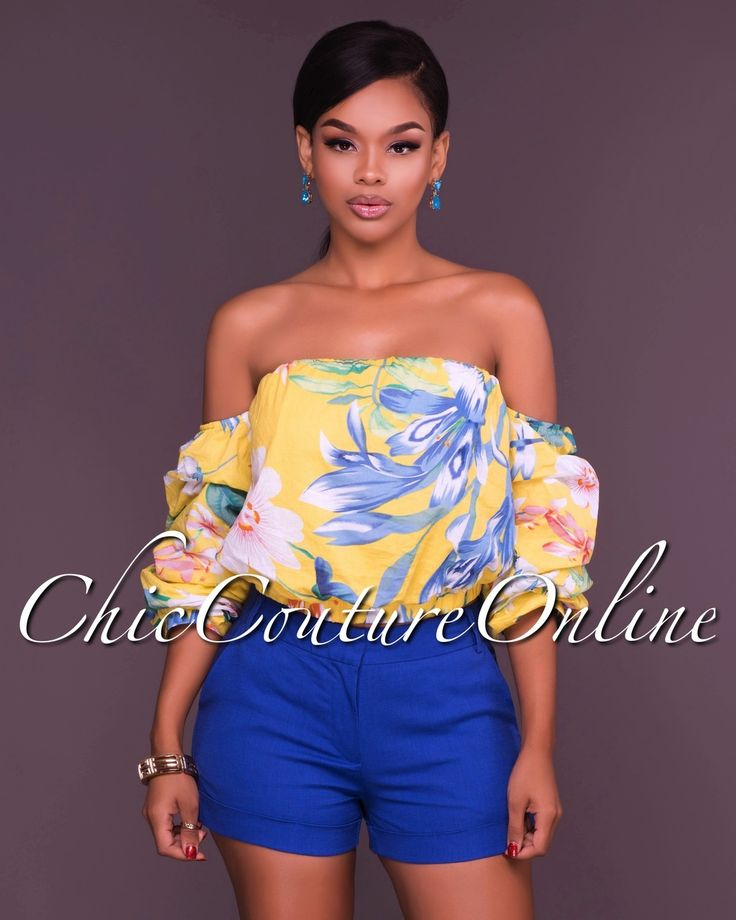 Chic Couture Online - Sari Royal Blue Shorts, (http://www.chiccoutureonline.com/sari-royal-blue-shorts/)