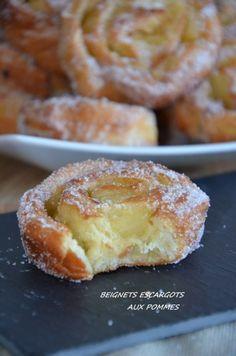 beignets-escargot aux pommes recette