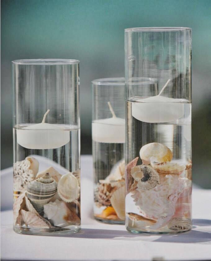 30 best charleston sc beach wedding ideas images on pinterest fun floating candles above shells for your tables wedding transportation in charleston available for a junglespirit Choice Image