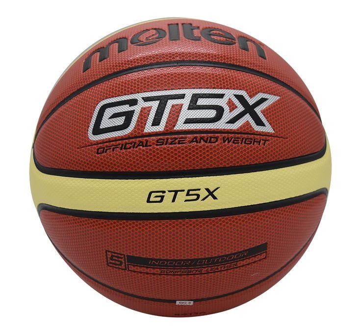 original molten basketball ball GT5X BGT5X 2017 NEW High Quality Genuine Molten PU Material Official Size 5 indoor Basketball