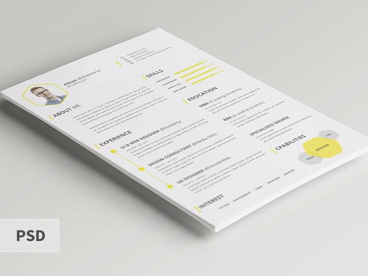34 best Clean Resume Designs images on Pinterest Resume - flex programmer resume
