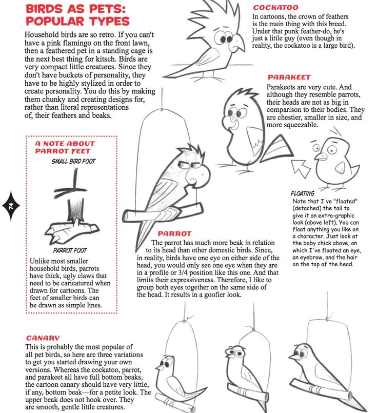 how to draw characters feet