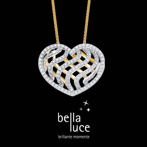 Zum Valentinstag ein Geschenk mit Herz. Als Zeichen ewiger Liebe ist Diamantschmuck eine perfekte Geschenkidee.   Viele Fragen sich: Was schenke ich meiner Frau oder Freundin zum Valentinstag. Ganz einfach, ein Zeichen der Liebe.  #liebe #valentinstag #schmuck #diamantschmuck #bellaluce