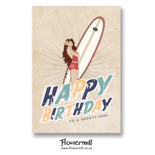 Vintage Surfer www.flowermill.co.za