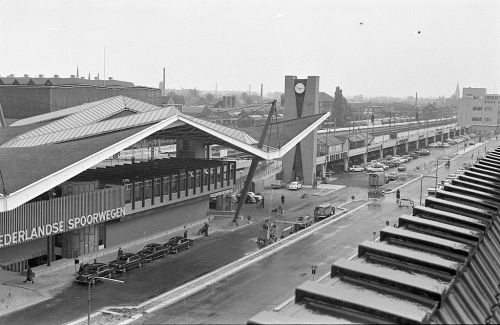 Archieffoto Station Tilburg. Foto: PVE