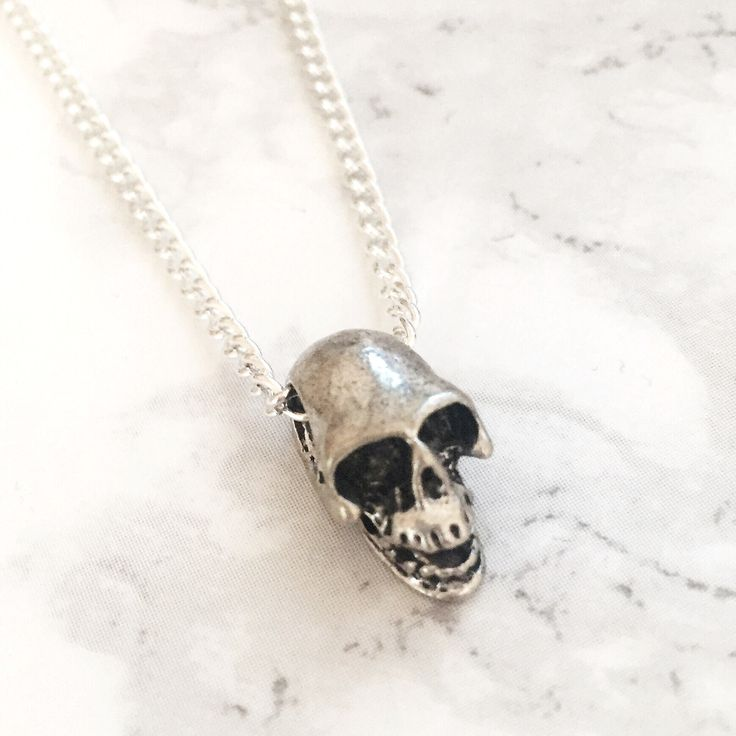 SAMPLE SALE - Skull Necklace – Druzy Dreams