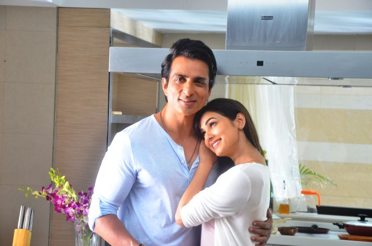 Sonu Sood and Sonal Chauhan at an ad shoot for Texmo Pipe Fittings in Madh Island.