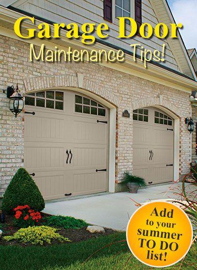 Garage Door Summer Maintenance Tips From Clopay. DIY Basic Summer  Maintenance To Keep Your Door