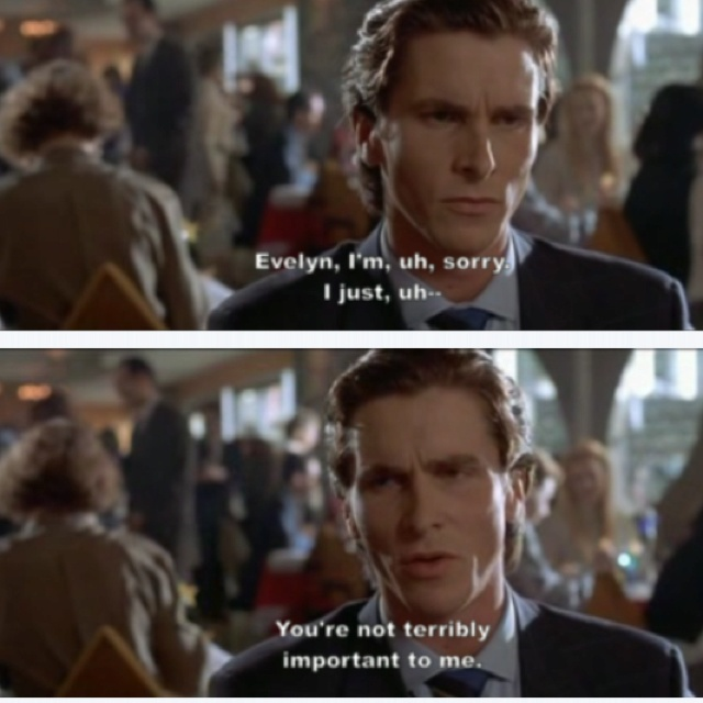 American Psycho Quotes Mesmerizing 32 Best American Psycho Images On Pinterest  Horror Films Movie