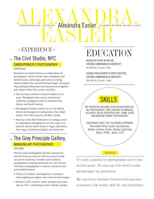 Best Cv Images On   Resume Creative Curriculum And