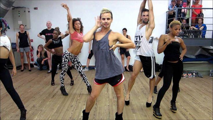 Street Jazz Dance Moves YANIS MARSHALL CHOREOG...