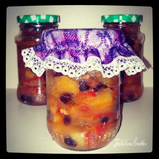 Starting my veggie food proyect. Tomato and apple Chatni #bittersweet #spicy #veggie #yummy