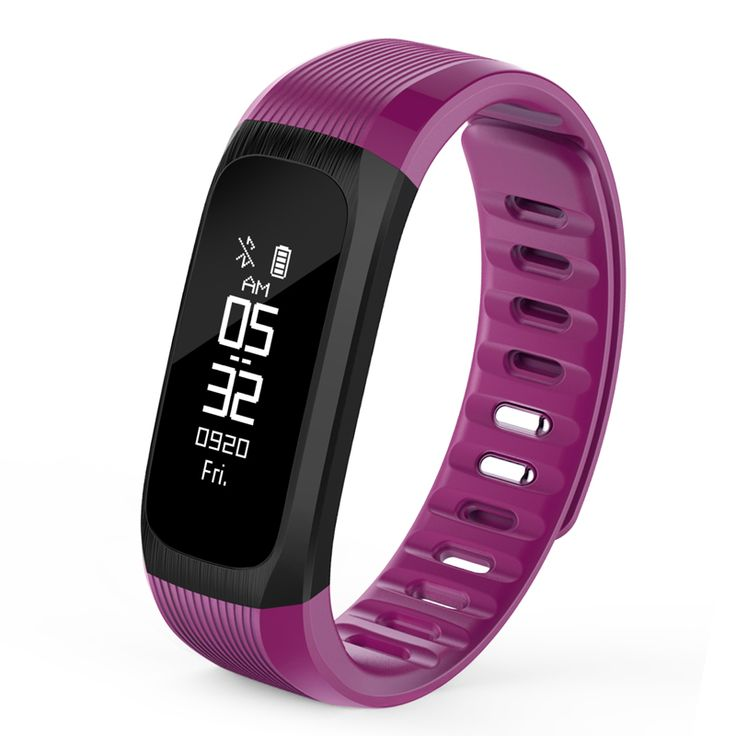 KALOAD VP9 Real-time Heart Rate Monitor Remote Camera Smart Sports Bracelet Wristband