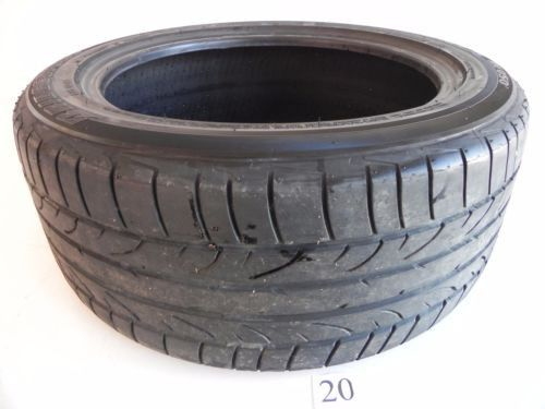 BRIDGESTONE POTENZA 95W 1 USED WHEEL TIRE RUBBER 245/45/17 TREAD 4MM DEPTH #20