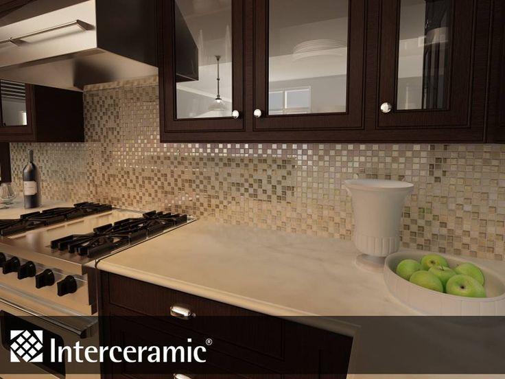 Beautiful kitchen backsplash by interceramic cool for Azulejos para cocina interceramic