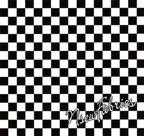Mary Engelbreit Fabric Black and White Checks Cotton Quilt Ask a Question    $12.99