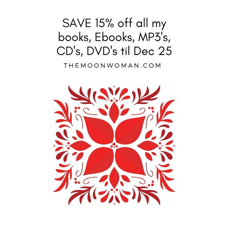 Take the hassle out of Xmas shopping by ordering online & save with 15% off my entire range of inspirational Books, CD's & DVD's & Digital Gifts such as MP3's, MP4's & Ebooks for loved ones far away! Save more on value bundles & FREE SHIPPING for orders over $50! You can even earn in store credit by writing product reviews! To view the catalogue online & enjoy some cat therapy to alleviate Xmas prep angst click here:
