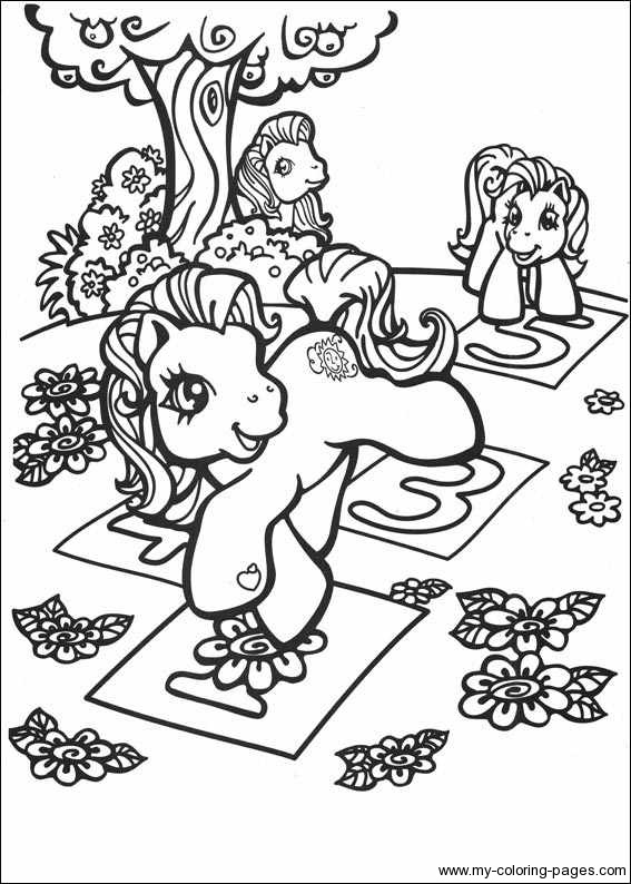My Little Pony Coloring Pages 031 567x