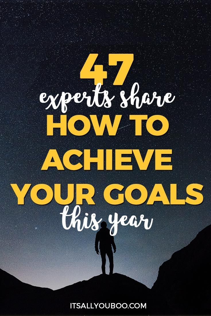 Ready to actually achieve your goals in 2018? 47 experts share their #1 tip for achieving your goals, including planning your year, aligning with your values, having community and more. Plus, click here to get your FREE Printable Slay Your Goals Guide. #goals #goaldigger #goalsetting #lifeplanning #goalsetter #quotesdaily #quotestoremember #advicequotes #motivationalquotes #quotestoliveby