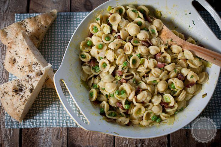 Carbonara: Orecchiett Carbonara, Dinners Tonight, Pasta Salad, Italian Food, Comforter Food, Shared Food, Food Photography, Chicken Noodles, Bella Eating