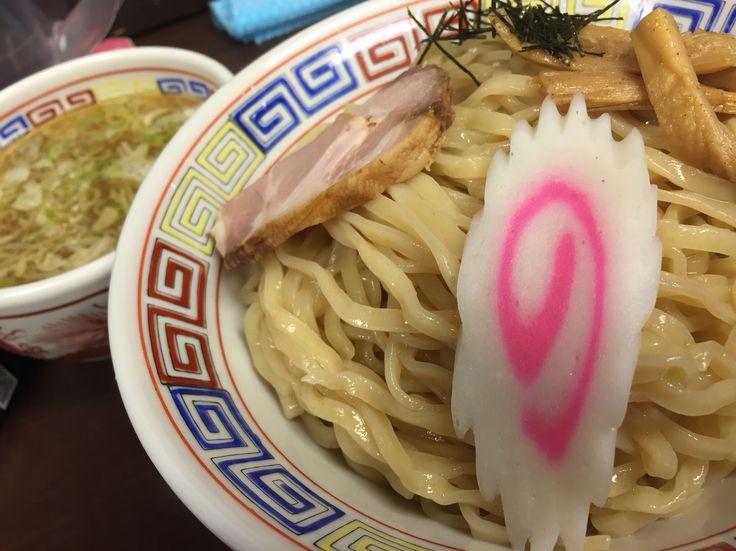中華ソバ鳴門の つけ麺