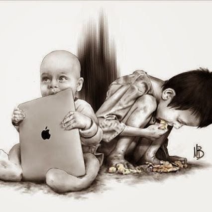 Artist: Rodney Robert Brown (http://browninart.com/) so powerful. We are so rich in so many ways.