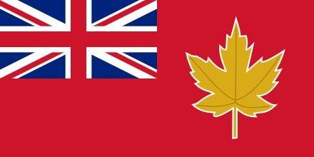 Bandera de Canadá en 1945