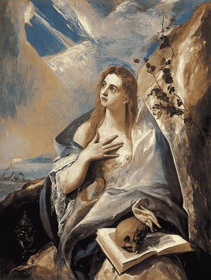 The Magdelane by El Greco (Domenikos Theotokopoulos) (Greek, 1540/41–1614)