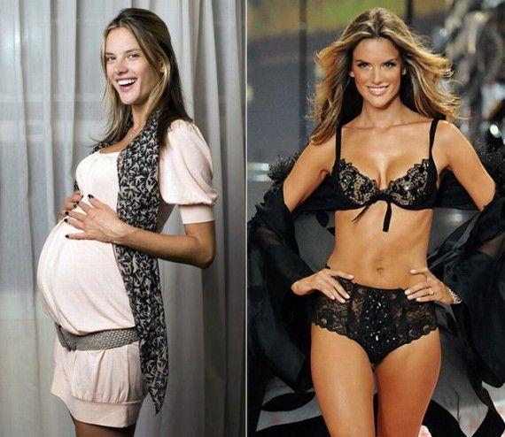 Διάσημες Μητέρες πριν και μετά από την εγκυμοσύνη           -            Η ΔΙΑΔΡΟΜΗ ®