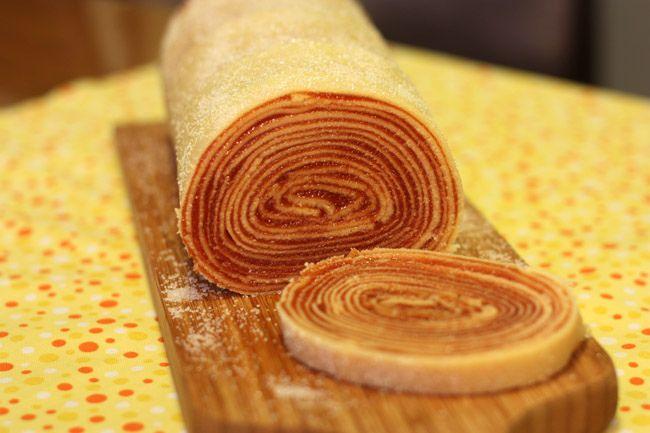 Guava Roll Cake
