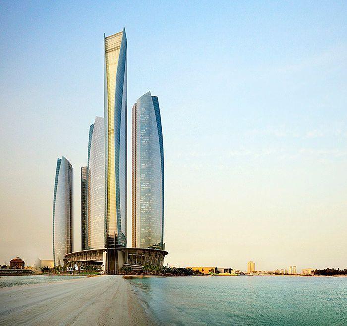 Jumeirah at Etihad Towers, Al Ras Al Akhdar, Abu Dhabi, Emirati Arabi Uniti