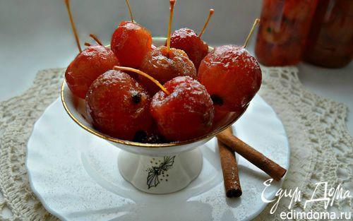 Ароматное варенье из райских яблок  http://www.edimdoma.ru/retsepty/68972-aromatnoe-varenie-iz-rayskih-yablok  Прекрасное дополнение к чаепитию! #едимдома #вкусно #кулинария #кухня #рецепт