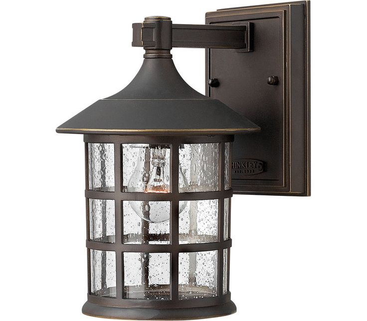 Hinkley Lighting 1800 1 Light Outdoor Wall Sconce From The Freeport  Collection Oil Rubbed Bronze Outdoor Lighting Wall Sconces Outdoor Wall  Sconces