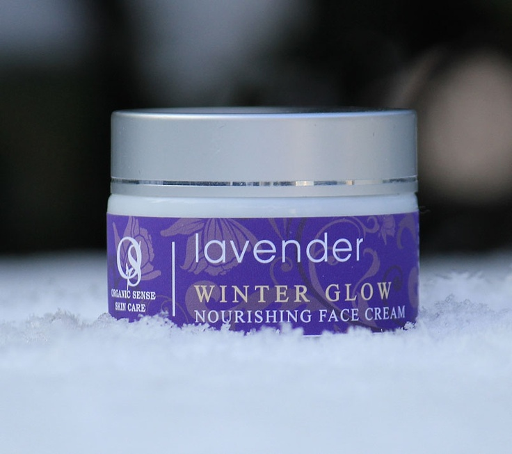 Lavender Winter Glow Face Cream - the perfect cream on cold days