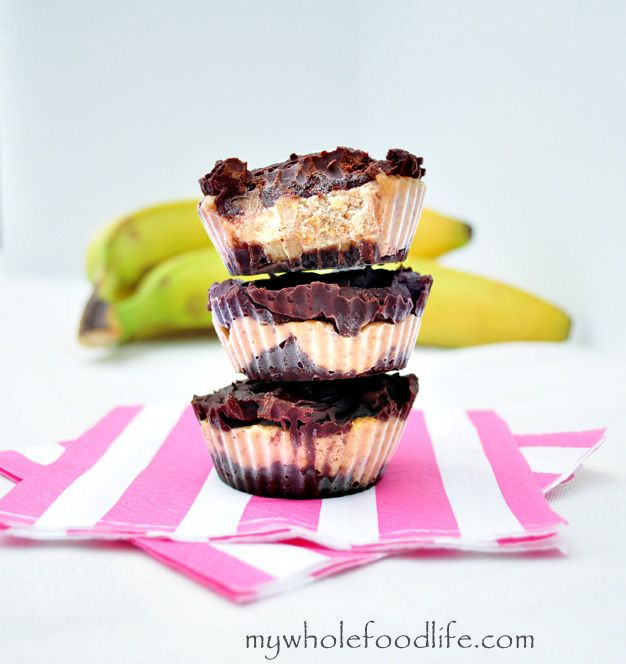 Chocolate Almond Banana Bites.  Super healthy sweet treat that was featured on The Today Show.  This one is a must try!
