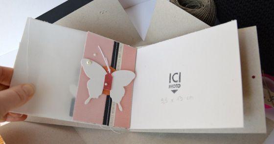 Le blog de Kesi'Art » Un mini-album et sa pochette cartonnée